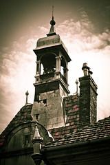 Old Walls 2 (kud4ipad) Tags: sky cloud building castle architecture resort carpathians sherborn karpaty 2013 закарпатье санаторийкарпаты