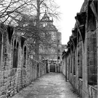 Kloster-Hirsau im Regen