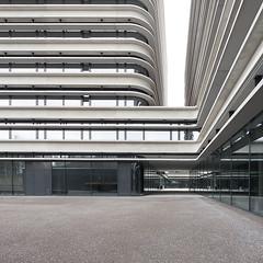 No edges (pixadeleon) Tags: building architecture modern office fineart zurich minimal round zrich challengegamewinner