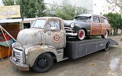 Coe/shoebox Ford Woody (bballchico) Tags: ford truck woody gmc coe shoebox stationwagon gnrs2016