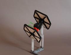 TIE/sf (Sydag) Tags: starwars lego space scifi tiefighter moc starfighter firstorder superiority spacefighter episodevii sienar theforceawakens tiesf