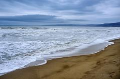 Kranevo, Bulgaria (Dominic Cristofor) Tags: sea seascape 35mm waves fuji noflash bulgaria fujifilm bg waterscape varna x100 kranevo