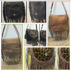 Trendy Leather Fringe SLING Bag's (elegantfashionwear) Tags: leather handbags slings