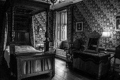"Dunster Castle in Black and white • <a style=""font-size:0.8em;"" href=""http://www.flickr.com/photos/32236014@N07/25560703791/"" target=""_blank"">View on Flickr</a>"