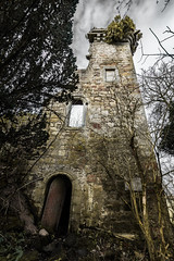 Elphinstone Tower (Neillwphoto) Tags: tower burial vault derelict listed crumbling ruined falkirk dunmore elphinstone