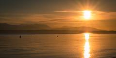 Sunset on Puget Sound.jpg (Eye of G Photography) Tags: sunset usa beach places whidbeyisland northamerica pugetsound washingtonstate sunsetsunrise sunstar beachgrass olympicmts mutinybay