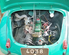 Renault 4CV (France, 1947 - 1961) (Cletus Awreetus) Tags: france car vintage automobile voiture renault collection ventoux moteur 4cv renault4cv voituredecollection voitureancienne
