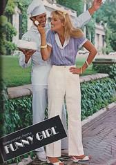 Funny Girl 1981 (moogirl2) Tags: vintage retro 80s 1981 seventeen vintageads 80sfashion funnygirl