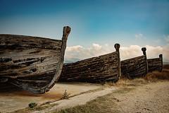 Boats cemetery (GabePix) Tags: cemetery boats sicilia trapani bonagia tonnara d810