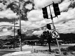(ken.larmon) Tags: california commute streetsigns traveling ontheroad highway62 yuccavalley cloudsandsky shootingfromthepassengerseat otherdesertcities kenlarmon kenlarmonphotography