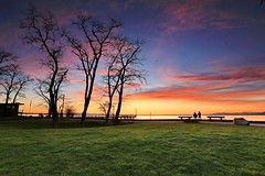 Sunset at Crescent beach, Surrey BC Canada (charliehwang) Tags: sunset crescentbeach