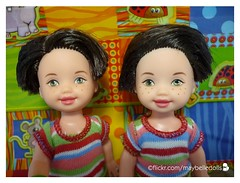 Dennis and Ryan 2/2 (May Belle Dolls) Tags: maybelledolls kellyclubdolls kellyclubdollsryan 2000kellyclubamusementparkryan ryan dennis twins