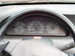 Fiat Punto cabriolet interior (marcogariboldi) Tags: auto car punto automobile fiat convertible cabrio yashica cabriolet yashinon tomioka 1255