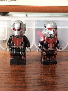 Ant Man comparison - movie and Civil War