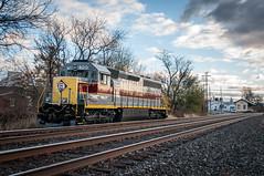 Coming For A Stay 11-14-15 (Daniel J. Kirby) Tags: red black yellow grey reading pennsylvania line pa erie lackawanna mertztown danieljkirbyphotography