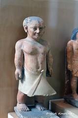 Dwarf Khnumhotep (konde) Tags: statue limestone saqqara oldkingdom 5thdynasty 6thdynasty