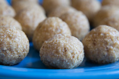Makin' da Balls (dmoranphotog) Tags: blue food holiday fiestaware passover pesach matzoballs p365