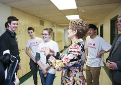 IMG_2092  Premier Kathleen Wynne engaged in a discussion with students from Danforth Collegiate and Technical Institute on financial assistance for post secondary education. (Ontario Liberal Caucus) Tags: school toronto college students education university highschool tuition potts coteau osap