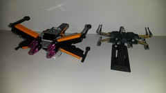 20160424_001907 (p13c30fch33s3) Tags: starwars lego mini xwing poes resistance t70 30278