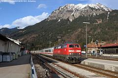 218 456-2 / 28.03.16 (Schumny) Tags: bayern ic eisenbahn bahnhof db berge alpen bahn 456 oberstdorf deutsche allgu 218 nebelhorn diesellok 2013 v160