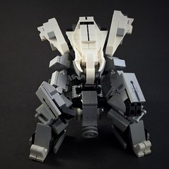 Dragonlady Medium Mech Tank (Marco Marozzi) Tags: robot tank lego marco mecha droid mech moc marozzi legodesign legomech logomecha