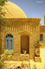 Nubian style dome house (Eslam Ayman) Tags: heritage architecture desert egypt dome simple nubian fayoum tunisvillage