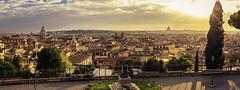 Panorama of Rome (julesnene) Tags: sunset italy panorama rome roma dusk it lazio canon1022mmlens julesnene juliasumangil canon7dmarkii canon7dmark2