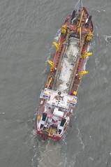Dredge Padre Island - Savannah outer harbor (U.S. Army Corps of Engineers Savannah District) Tags: usa ga savannah shep dredge padreisland corpsofengineers birdwell savannahharborexpansionproject