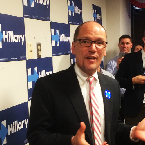 Tom Perez explains why this progressive backs Hillary, From FlickrPhotos