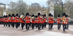 band of the welsh guards /15/04/2016/ (philipbisset275) Tags: unitedkingdom victoriamemorial centrallondon cityofwestminster englandgreatbritain bandofthewelshguards 15042016