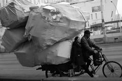 Nameless (Spontaneousnap) Tags: life china street city people urban blackandwhite bw asia shanghai candid documentary like 上海 spontaneousnap publicareas sonyrx1r