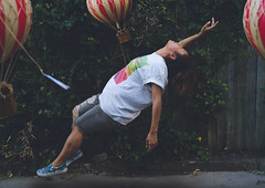 Surrender (elliftheartist) Tags: fashion outdoors fly levitation hotairballoons whimsical fineartphotography freshprinceofbelair streetstyle surrealphotography conceptualphotography elliftheartist