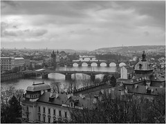 Bridges (mielke-naturfotografie) Tags: bridge prague prag praha moldau