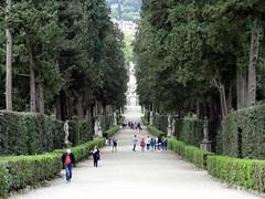 Boboli Gardens in Florence (chibeba) Tags: city urban italy florence spring europe april 2016 citybreak