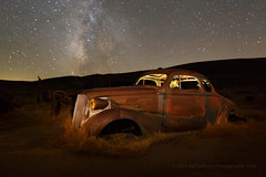 '37 Chevy at 19mm (Jeffrey Sullivan) Tags: car night photography october rusty chevy workshop bodie 1937 2015