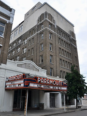 Clarksdale - Cinema & Theatre (Drriss & Marrionn) Tags: street usa cinema building architecture buildings mississippi outdoor streetlife streetscene movietheatre venue paramount streetviews paramounttheatre clarksdale vintagemovietheatre mariontheatre oldvenues