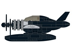 D4DRazortail003 (Dragonov Brick Works) Tags: lego aircraft snot ldraw studless miniscale
