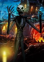 IMG_9566-2 (Agent | Butterman) Tags: halloween scary jackskellington figurine nightmarebeforechristmas medicom