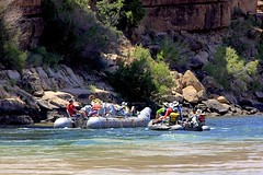 The Journey Has Begun! (oxfordblues84) Tags: arizona people woman man men water river nationalpark women grandcanyon tourists rafting coloradoriver raft riverbank leesferry whitewaterrafting grandcanyonnationalpark roadscholar naturalwonderoftheworld arizonaraftadventures roadscholartour roadscholartrip roadscholarfieldtrip grandcanyonnationalparkexploringthenorthandsouthrims roadscholarorg