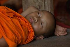 _MG_0396-2016_04_10_mae-sot-wat-don-chai (christophe cochez) Tags: children monk asie enfant thailande sommeil bouddhisme maesot bonze bouddhas watdonchai