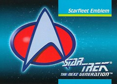 Star Trek The Next Generation 1992 series Trading Card 078 Fron (zigwaffle) Tags: startrek card trading sciencefiction starfleet 1992 startrekthenextgeneration paramount impel