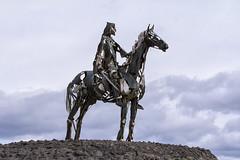 Gaelic Chieftain (Frank Fullard) Tags: sculpture irish mountain art history chief battle gaelic roscommon curlew chieftain fullard harron gaelicchieftain frankfullard masuriceharron