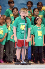 2016-04-07 (38) Fred D ES 2nd grade show (How Does Your Garden Grow) afternoon (JLeeFleenor) Tags: kids youth photography virginia kid photos performance indoors va elementaryschool inside leesburg 2ndgrade frederickdouglass loudouncounty youthactivities