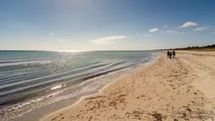 Marielyst strand (johanbe) Tags: sea sun sol beach strand reflections denmark sunny calm danmark hav marielyst sandstrand soligt reflektioner