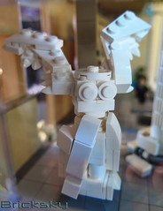 Statue - Winged Victory (Bricksky) Tags: art statue museum vancouver gallery lego victory moc wingd bricksky