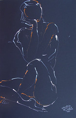NUDE IN WHITE 64 (eduard muntada) Tags: art nude women painter stil