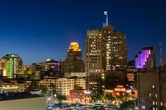 San Antonio, TX (kinchloe) Tags: night sanantonio texas tx bluehour skylilne