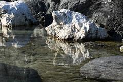 Reflection (Bente Nordhagen) Tags: reflection water vinter rocks stein pske vann speiling steinivann