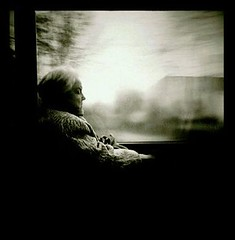 feelings of serenity (moetsj) Tags: old people blackandwhite bw woman white black blur reflection window nature monochrome square grey noir sad belgium belgique belgie blurred calm human age serenity mens zwart wit blanc tone oud vrouw calme gens peacefull mensen peacefully bejaard vierkant