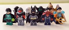 Lego DC - The Justice League (Mr_Red_2001) Tags: dc lego superman batman cyborg greenlantern aquaman theflash greenarrow martianmanhunter hawkman thejusticeleague